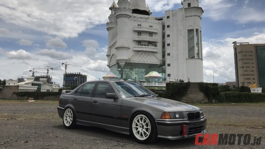 Modifikasi: BMW 323i E36 1996 ala M3